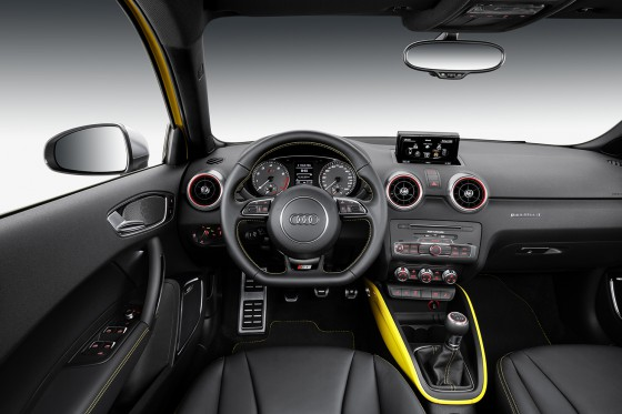 Audi S1 Sportback intérieur