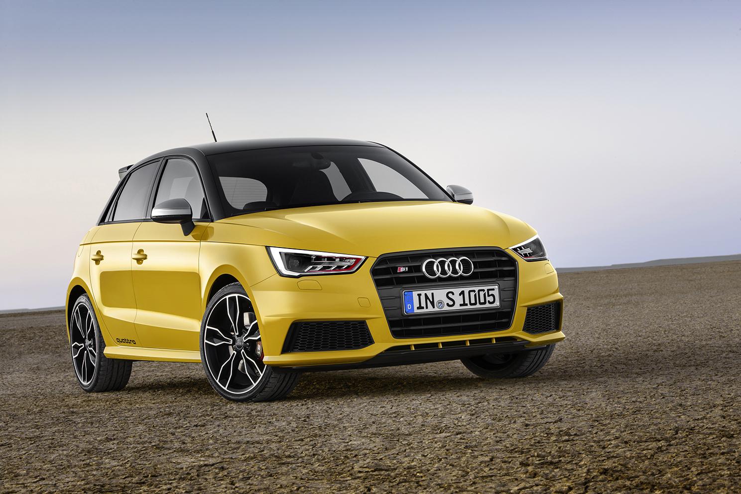 Audi S1 et S1 Sportback, pour une sensation de conduite forte