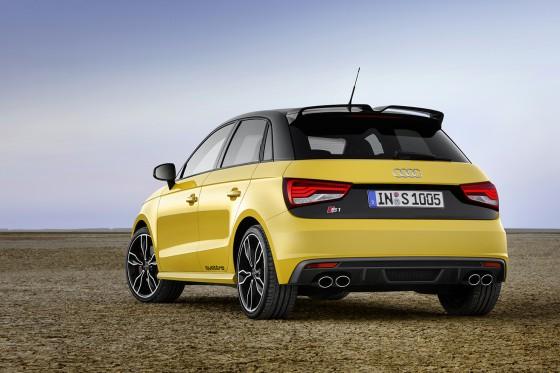 Audi S1 vue arrière