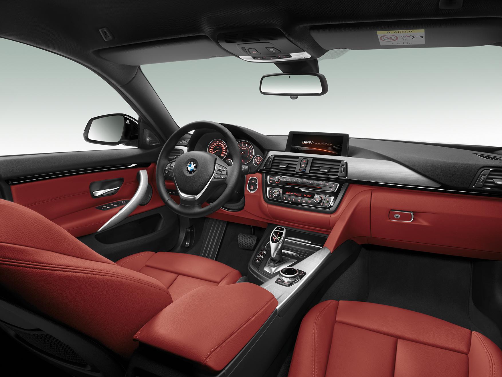 intérieur BMW Série 4 Gran Coupé
