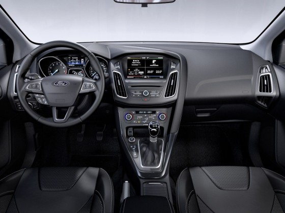 ford focus interieur 2014
