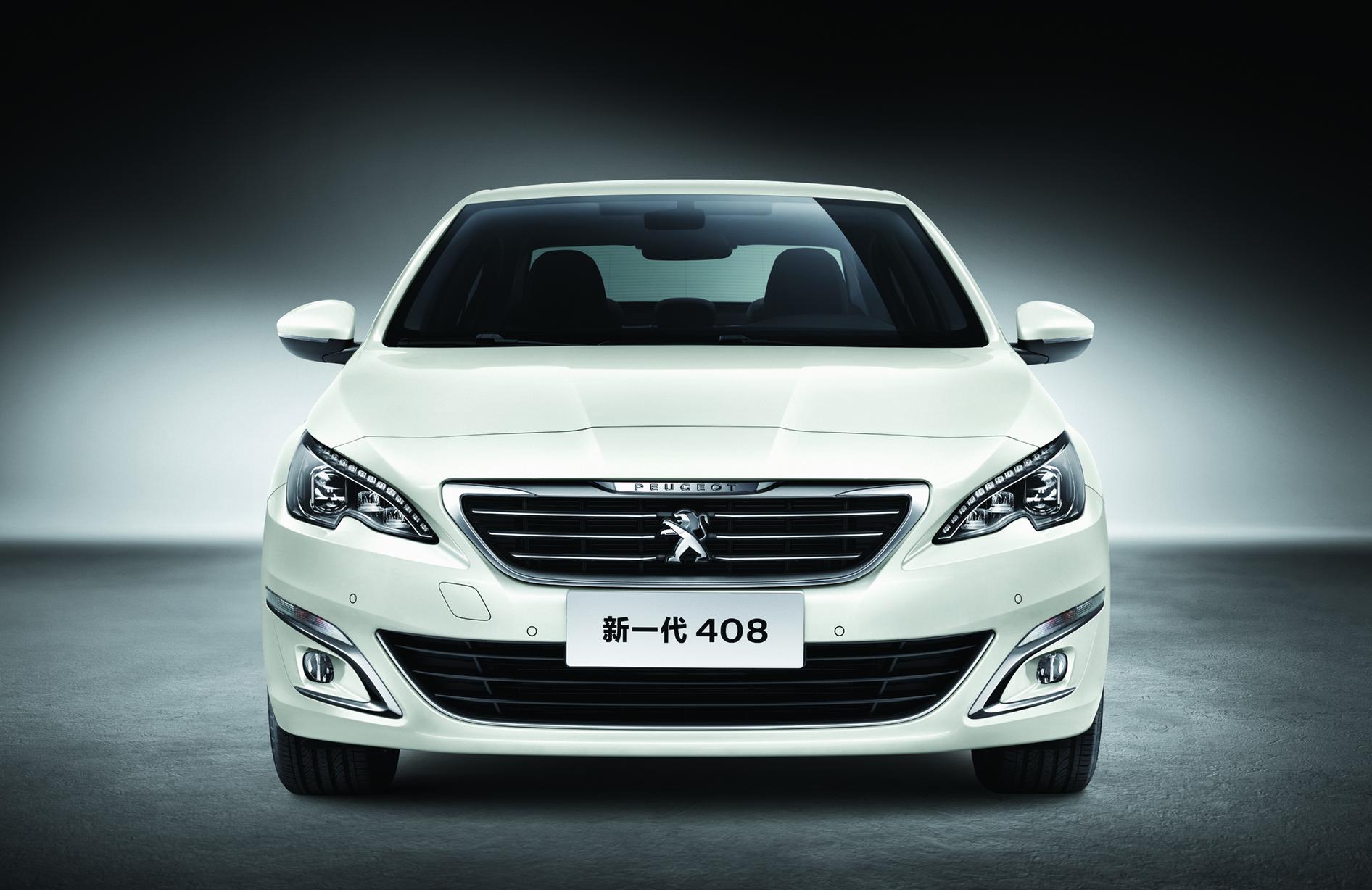 La nouvelle Peugeot 408 vient d'être présentée au salon de Pékin