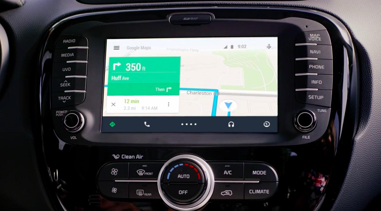 Android Auto de Google : Des voitures toujours plus connectées