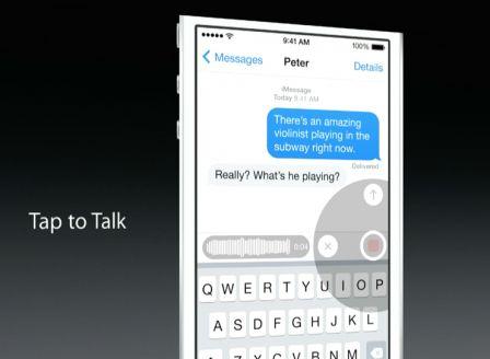 Fini les SMS au volant avec iOS8 !