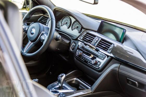 intérieur BMW M4