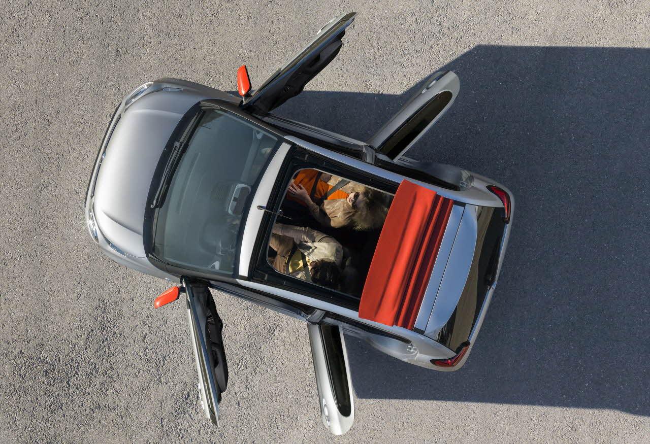 Sortie de La nouvelle Citroën C1 2ème génération