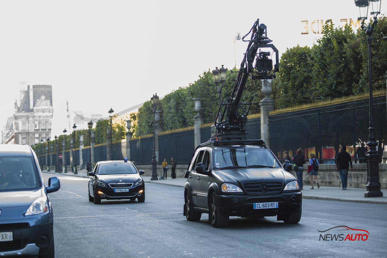 Dans le film « Lucy » de Luc Besson la nouvelle Peugeot 308 mise à l'honneur