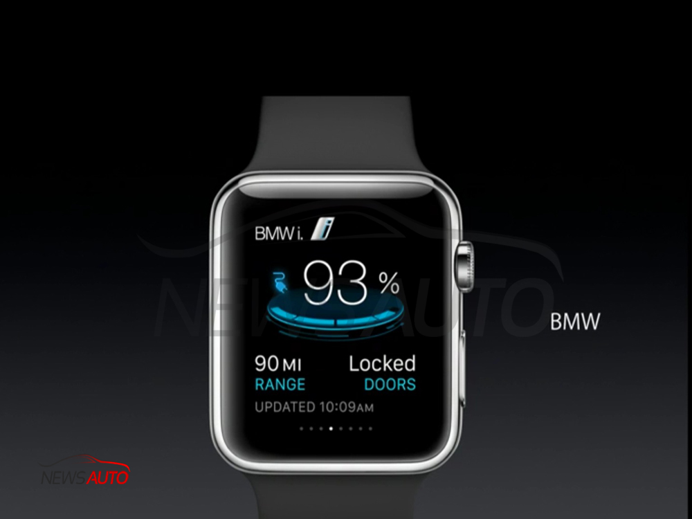 BMW i sur Apple WATCH !