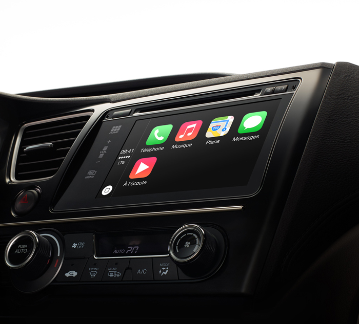 CarPlay : Le nouveau système d'info-divertissement