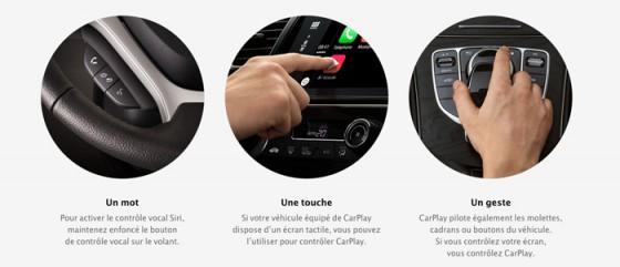 Utilisation CarPlay