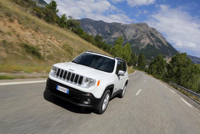 Jeep Renegade : La grande voyageuse de Jeep
