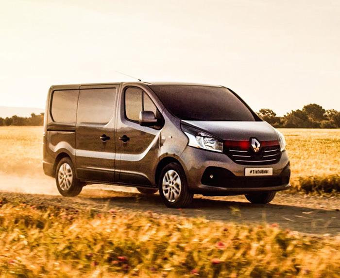 Un remake de la série K2000 pour le nouveau Renault Trafic