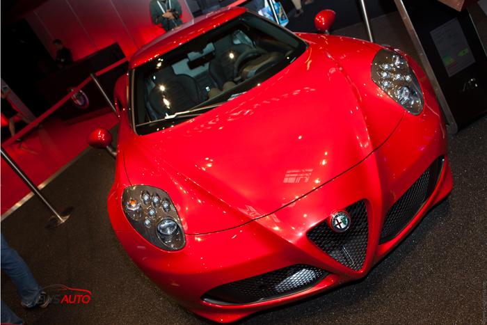 Nouvelle Alfa Romeo 4C