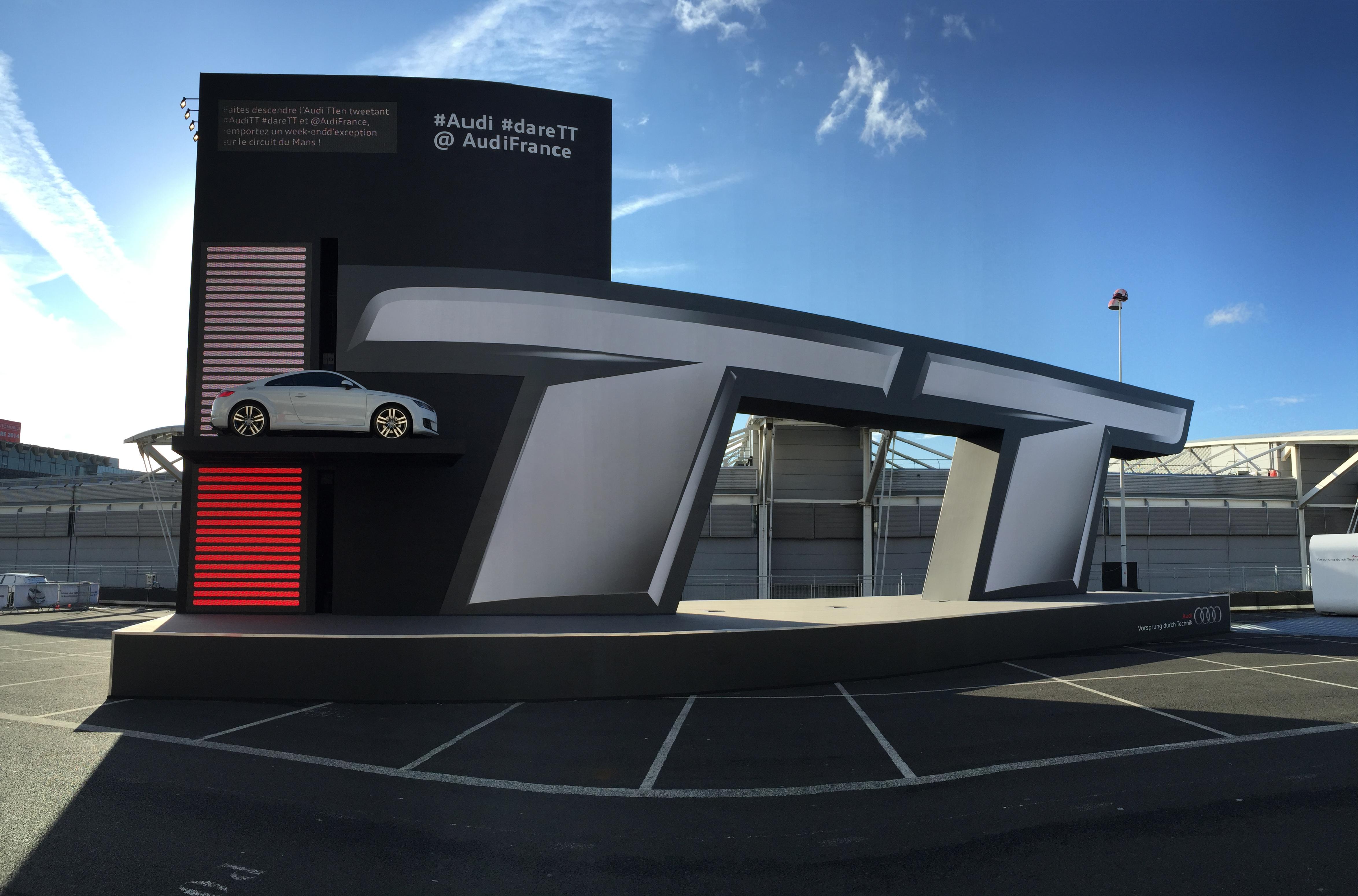 [jeu concours] Repartez au volant de la nouvelle Audi TT