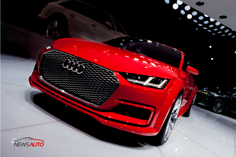 [EXCLU] Audi TT Sportback : les photos du Mondial de Paris !