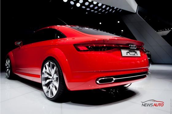 Audi TT Sportback mondial auto 2014