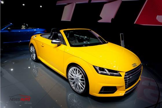 Nouvelle Audi TTS Roadster