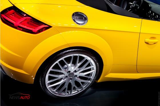 Audi TTS mondial auto