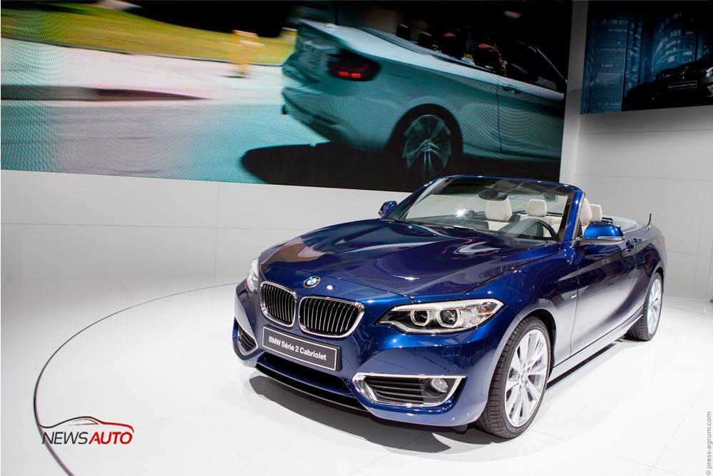 BMW Série 2 cabriolet au Mondial de l'automobile