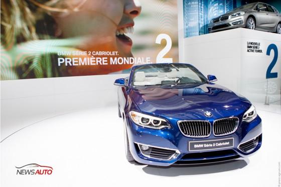 BMW Série 2 Cabriolet mondial paris
