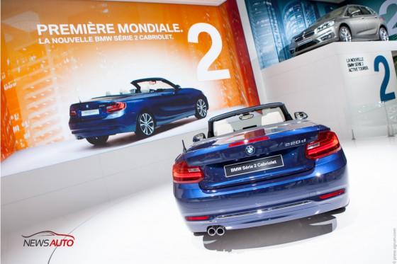 Série 2 Cabriolet mondial 2014