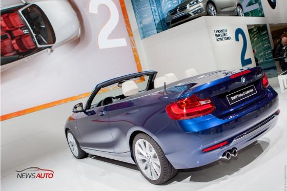 Arrière BMW Série 2 Cabriolet