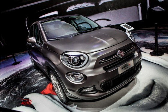fiat 500x un nouveau suv au mondial de paris news auto. Black Bedroom Furniture Sets. Home Design Ideas