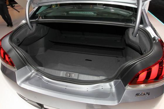 Coffre nouvelle Peugeot 508