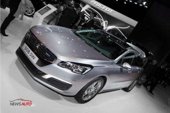 nouvelle Peugeot 508 SW