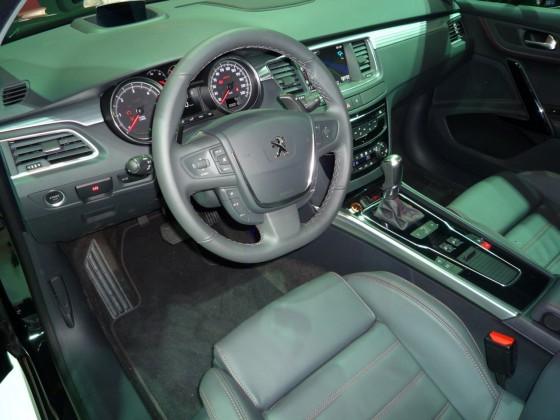 intérieur nouvelle Peugeot 508