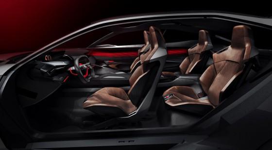 Intérieur Peugeot Quartz