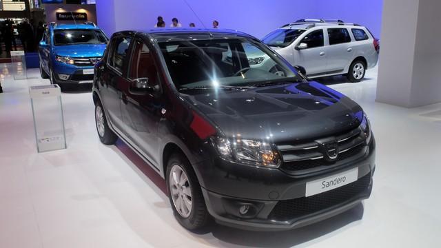 Dacia au Mondial à Paris : Sandero Black Touch et Duster Air