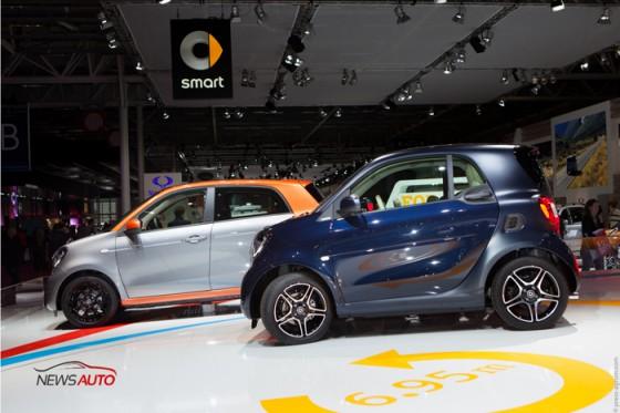 Nouvelles Smart mondial auto