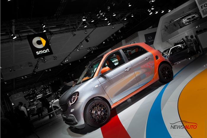 Smart ForFour mondial Paris