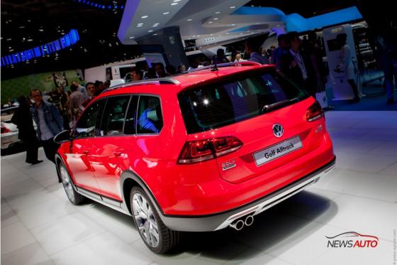 Volkswagen Golf Alltrack au mondial auto