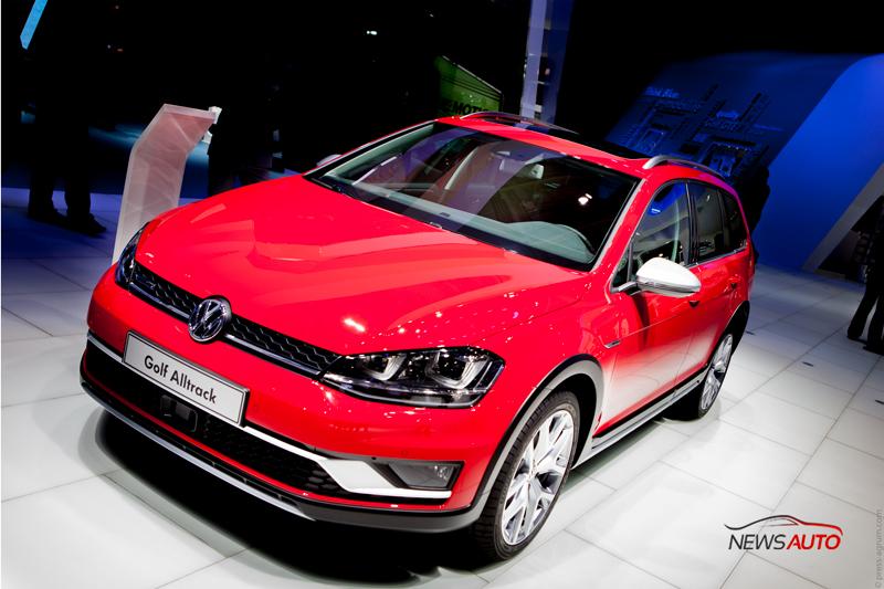 Volkswagen Golf Alltrack se dévoile au Mondial automobile