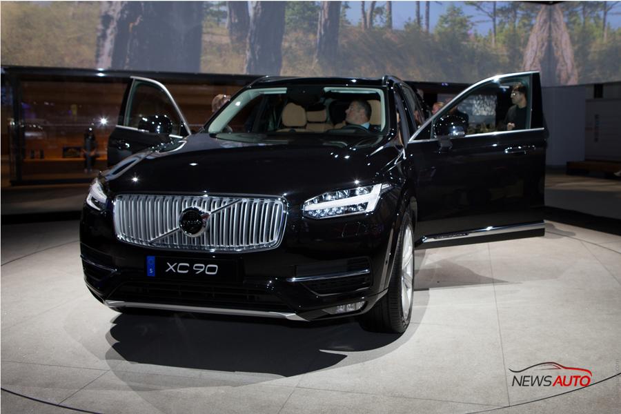 Volvo XC90 : un nouveau 4×4 au Mondial de l'auto