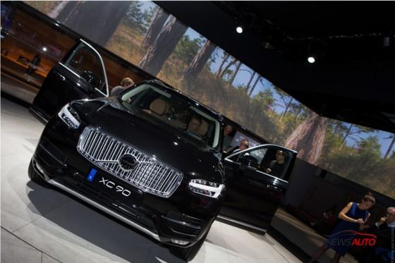 Volvo XC90 mondial auto