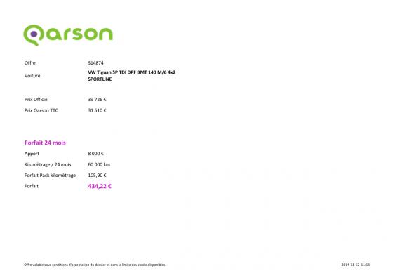 Qarson&Go 30 000 km