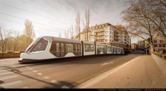 Tram Strasbourg 2016