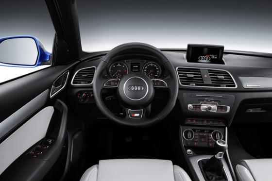 interieur Audi Q3