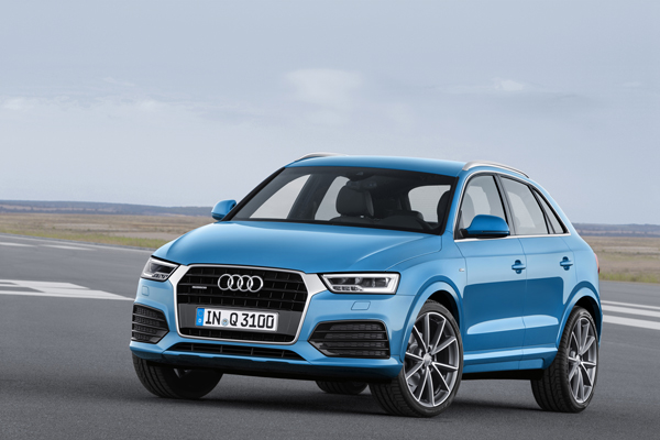 L'Audi Q3 commercialisé dans les prochains jours
