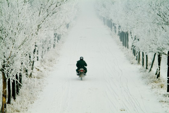 scooter-moto-hiver