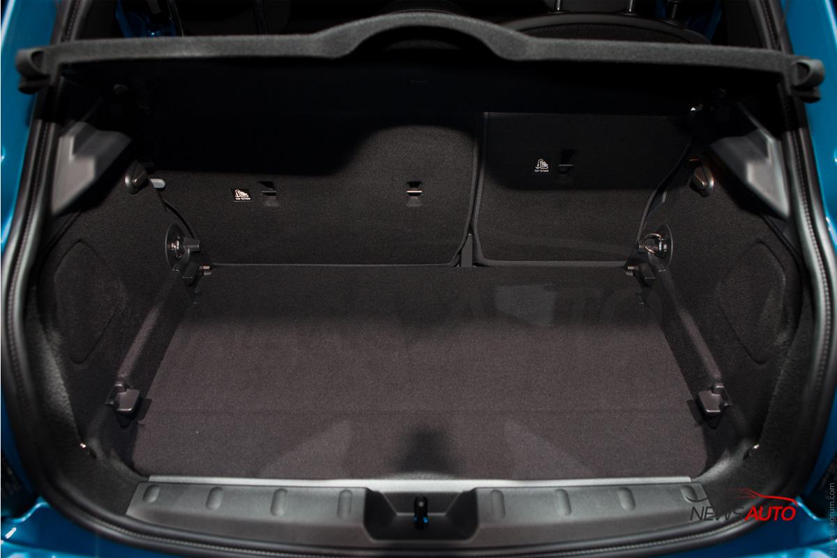 Coffre mini Cooper 5 portes