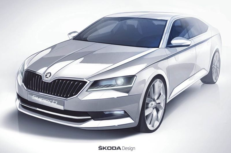 Nouvelle Skoda-Superb