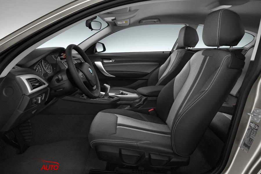 intérieur BMW Série 1 2015