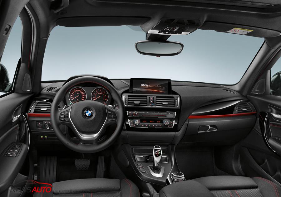 interieur BMW Série 1 restylée