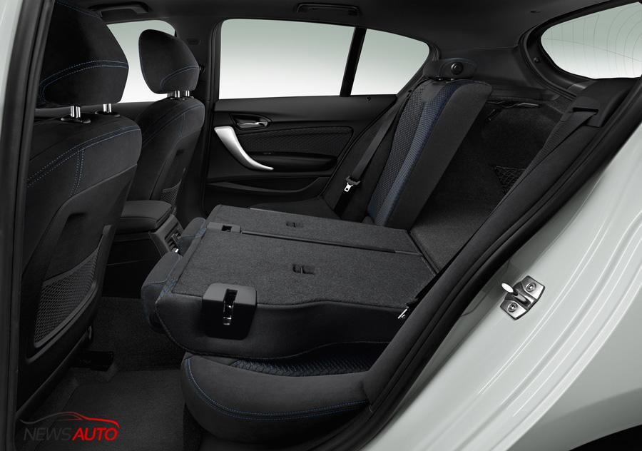 sièges arrière BMW Série 1