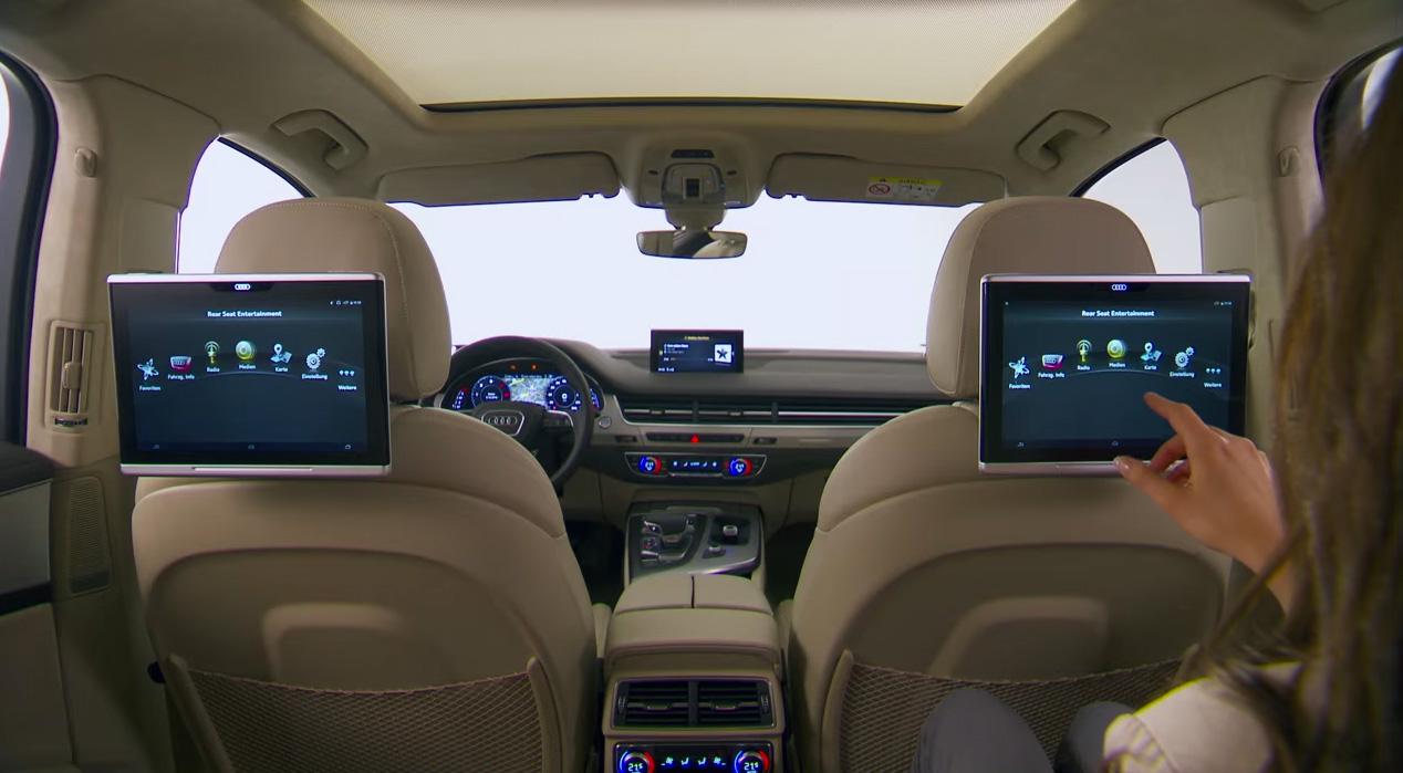tablette Audi Q7