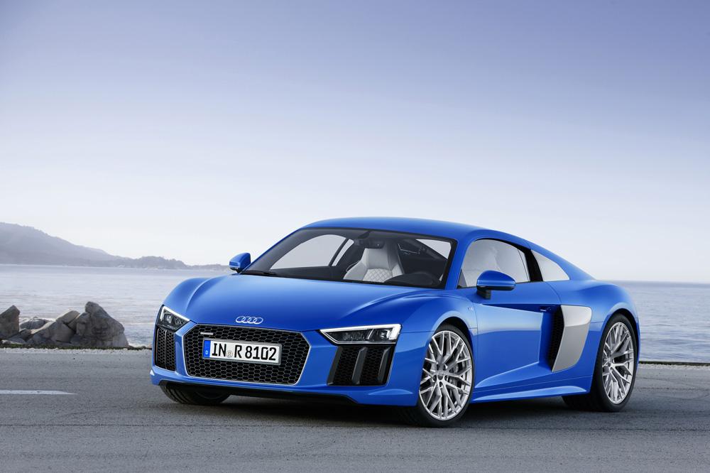Présentation nouvelle Audi R8